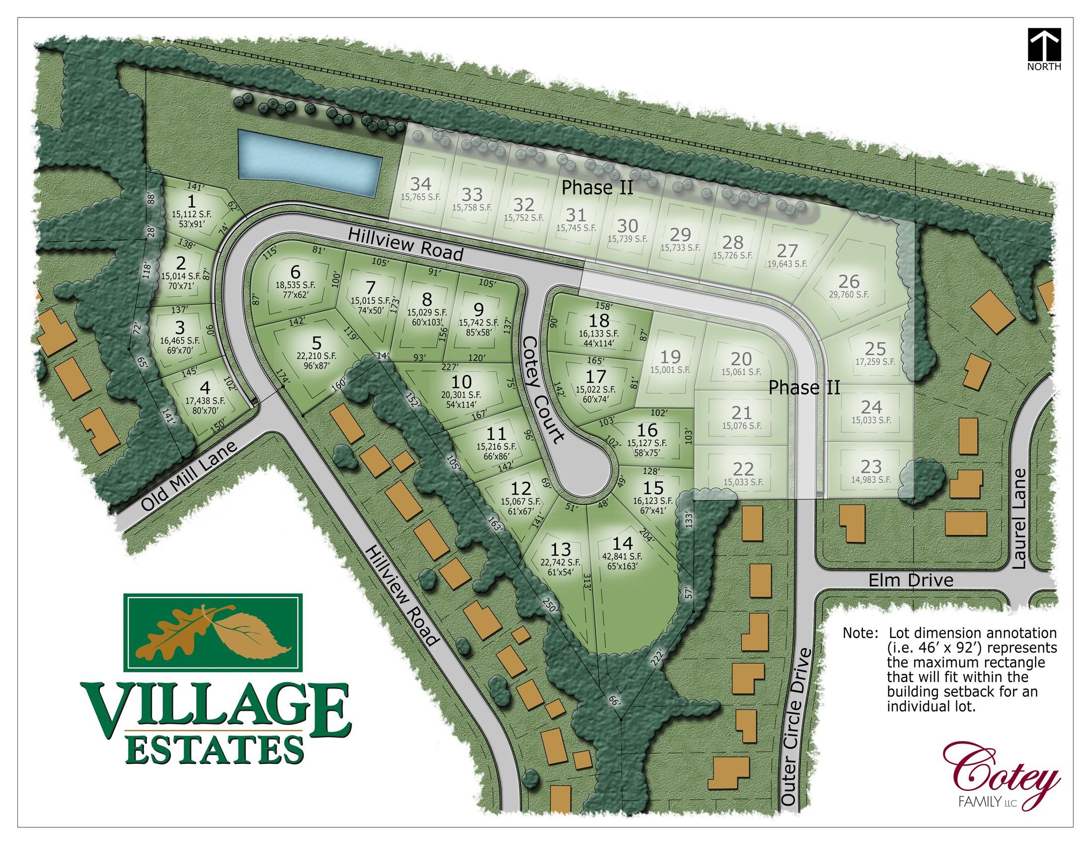 Village Estates Subdivision In Sussex Wi